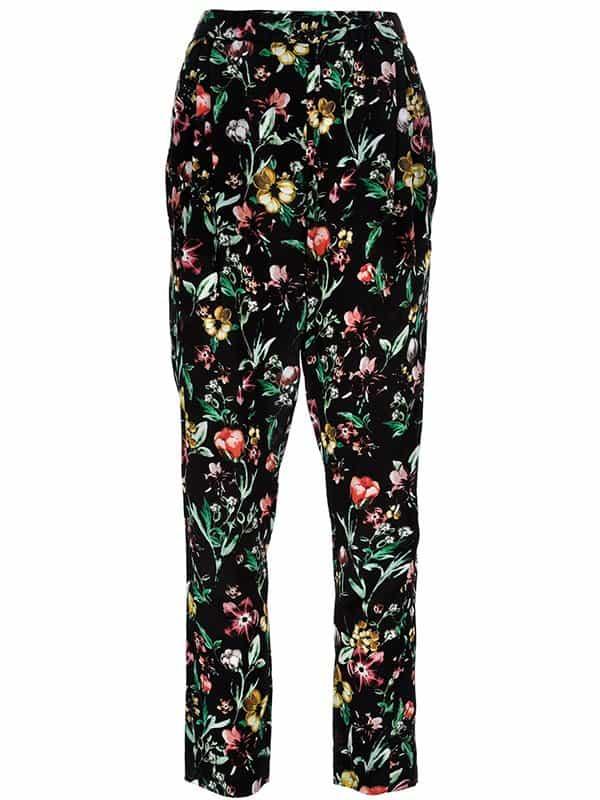 3.1 Phillip Lim Floral Print Trousers