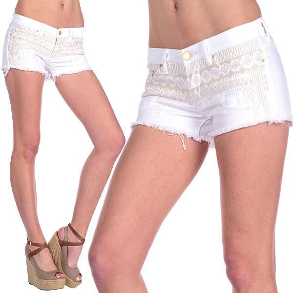 BLANKNYC The Little Queenie Shorts in Hock It