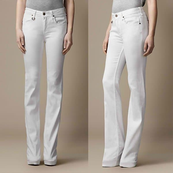 Burberry Chelsea Optical Bootcut Jeans
