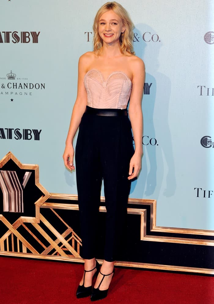 Carey Mulligan at the Australian premiere of 'The Great Gatsby' in Sydney, Australia on May 22, 2013