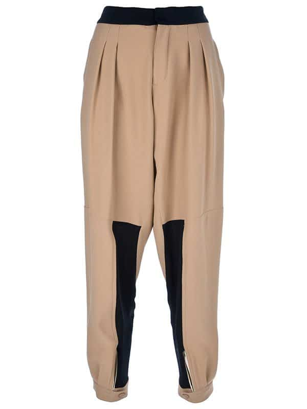 Chloe relaxed tapered trouser