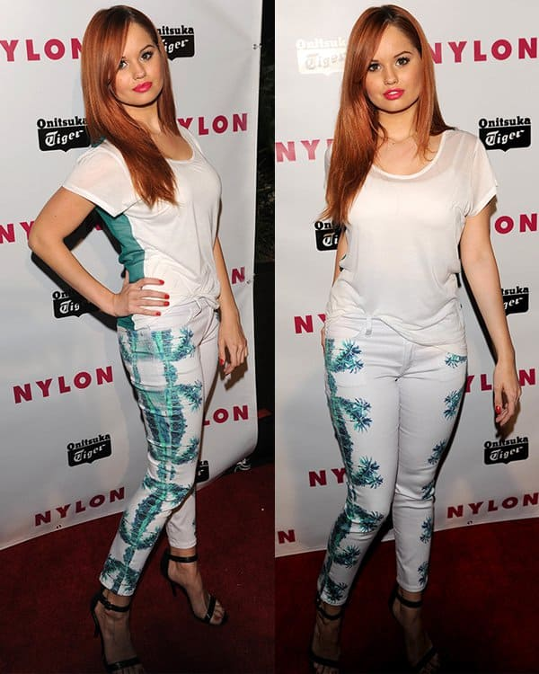 Debby Ryan at NYLON Magazine Young Hollywood Party at Hollywood Roosevelt Hotel in LA on May 14, 2013