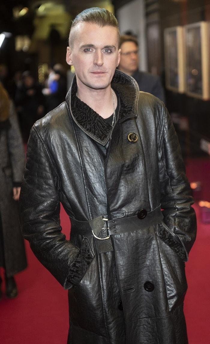 "English fashion designer Gareth Pugh at the World Premiere of ""Romeo & Juliet: Beyond Words"""