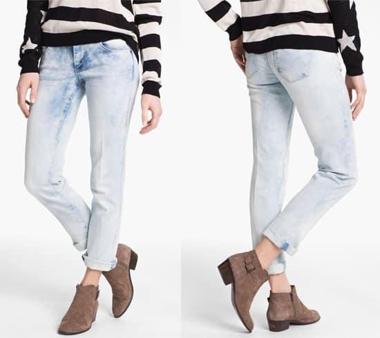 Jolt Acid Wash Skinny Jeans