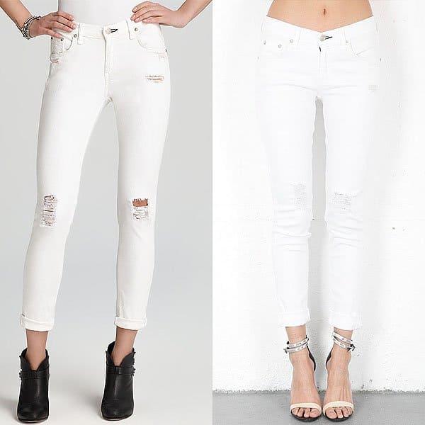 Rag & Bone JEAN The Dash Slouchy Skinny Jeans