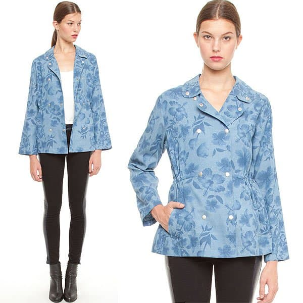 Stylestalker Replicants Parka in Chambray Floral