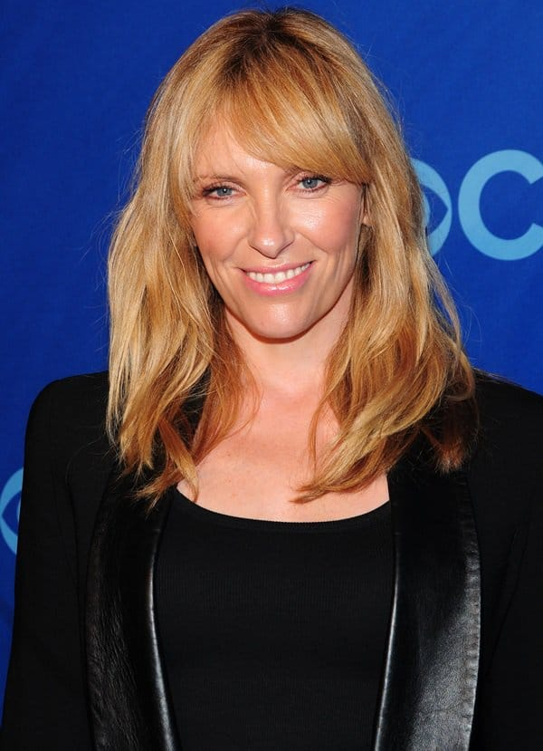 Toni Collette at CBS Upfront held at the Lincoln Center in New York City on May 16, 2013