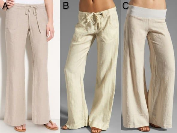 Recommended linen pants for women