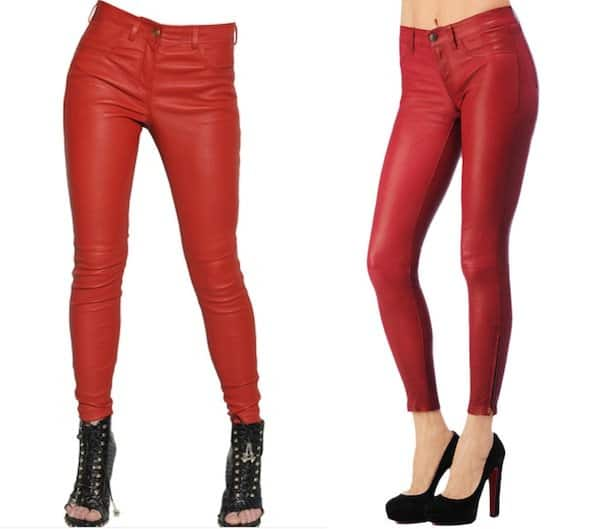 how to wear red trousers