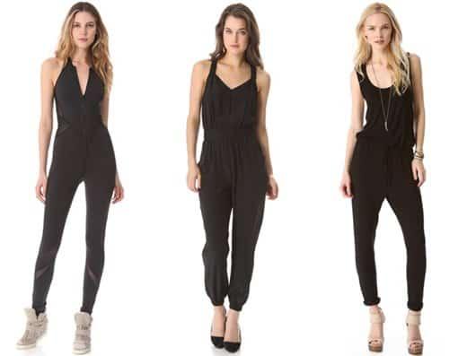 Black Jumpsuits