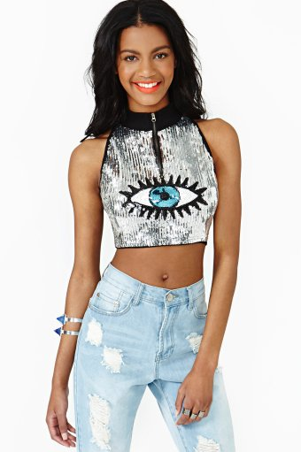 Eye Candy Crop Top