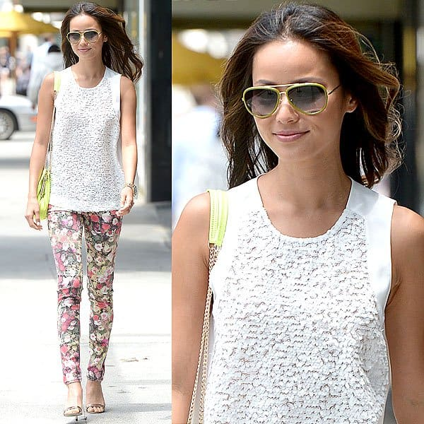Jamie Chung leaving a business meeting in Beverly Hills, California on June 13, 2013