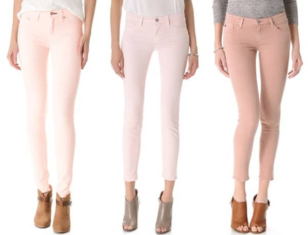 Peach-Colored Jeans from Shopbop
