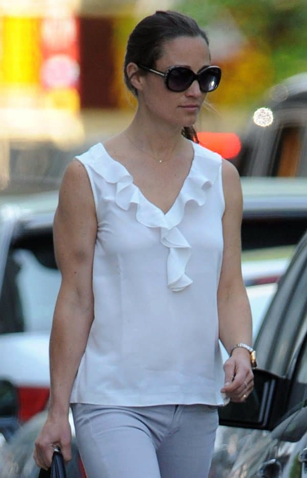 Pippa Middleton out and about in West London, England on June 6, 2013