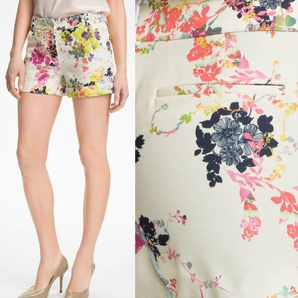 Ted Baker Summer Bloom Shorts