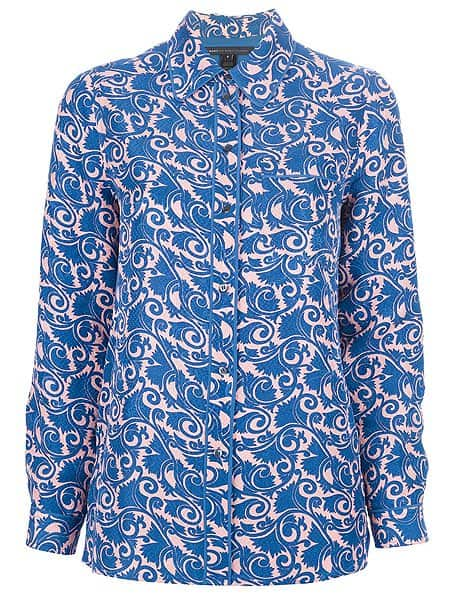 Marc by Marc Jacobs Tootsie Floral Print Shirt