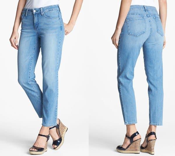 NYDJ Alisha Stretch Ankle Skinny Jeans