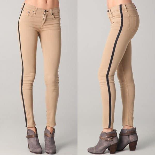 Rag & Bone Tuxedo Skinny Jeans