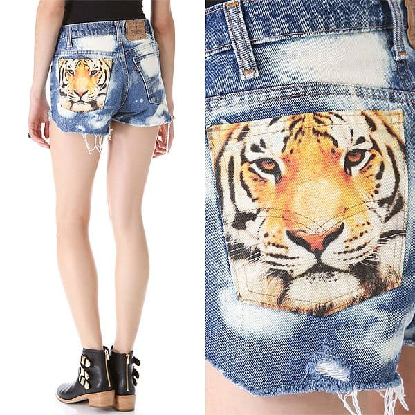 "The Laundry Room ""Big Cat"" Shorts"
