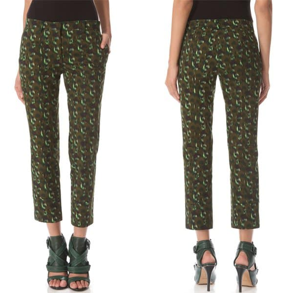 Derek Lam Cropped Trousers