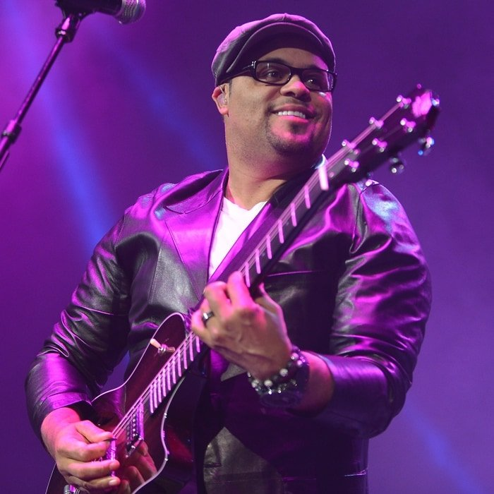 American Christian music singer Israel Houghton was born a Caucasian mother and an African-American father