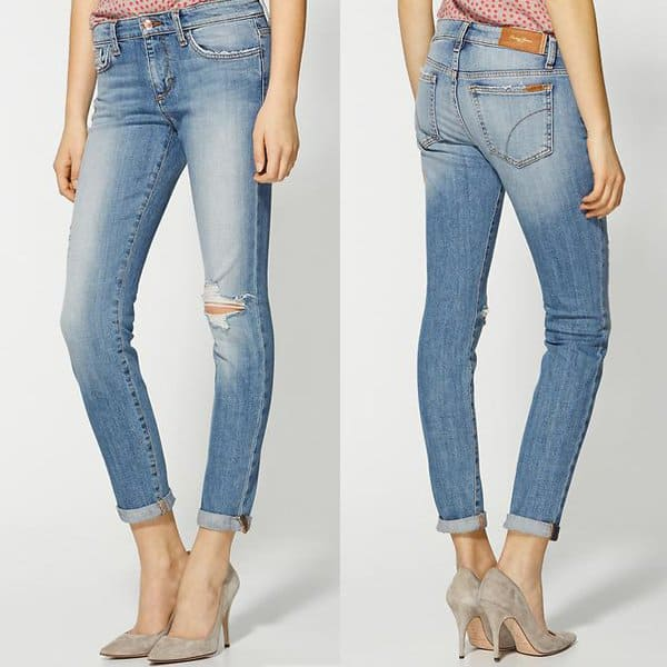 Joe's Jeans Rolled Ankle Skinny Jeans in Cooper