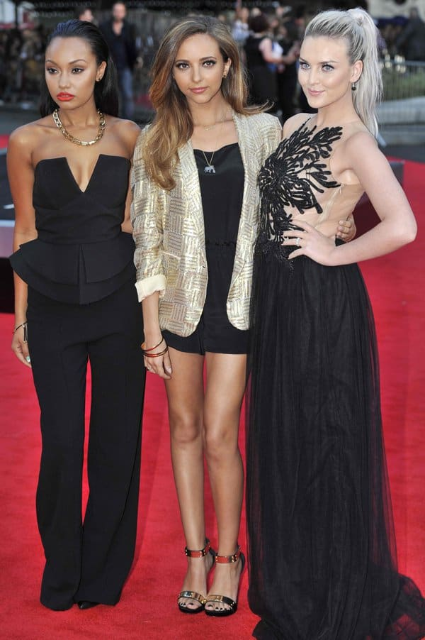 Leigh-Anne Pinnock at the world premiere of 'One Direction: This Is Us' in London on August 20, 2013