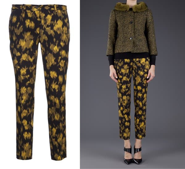 Michael Kors Samantha Cropped Pants