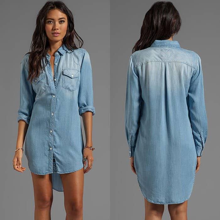 Rails Kyley Tencel Denim Tunic Dress