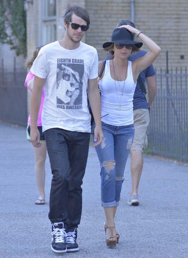 Modern Family actress Sarah Hyland and boyfriend Matt Prokop