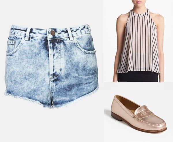 Pixie Lott inspired outfit