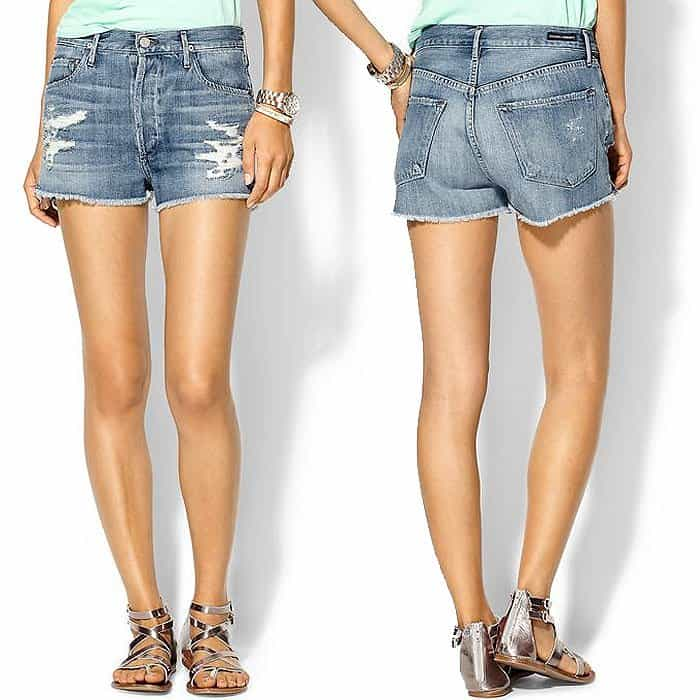 "Citizens of Humanity ""Chloe"" Shorts in Love Worn"