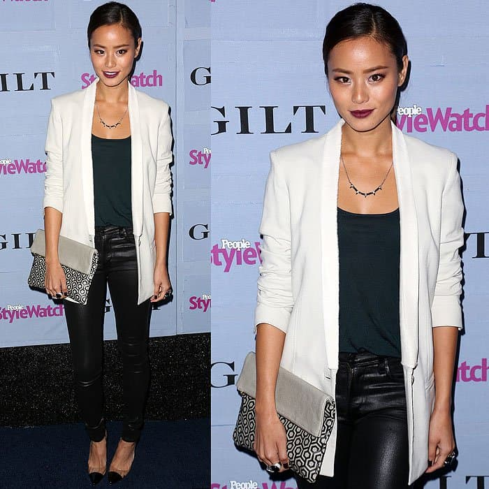 Jamie Chung 2013 People StyleWatch Denim Party