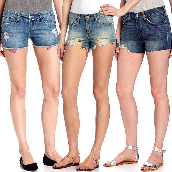 Levis cutoff shorts