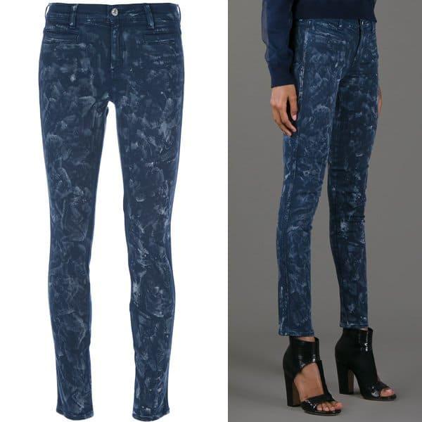 MiH Ellsworth Skinny Jeans in Blue Salt