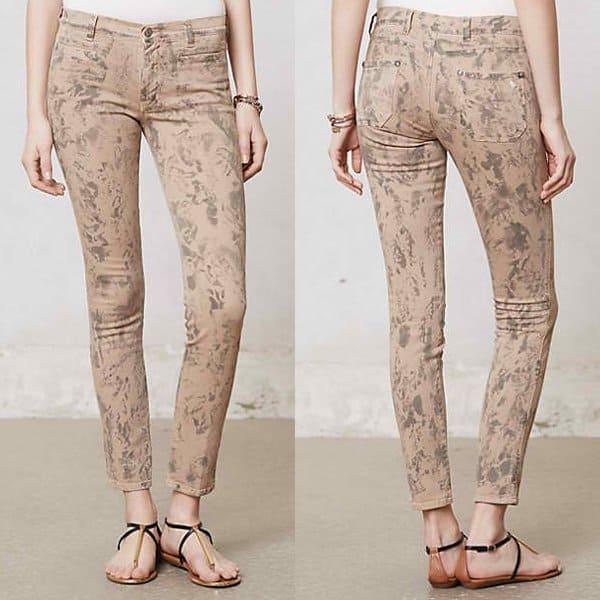 MiH Ellsworth Skinny Jeans in Black Sand