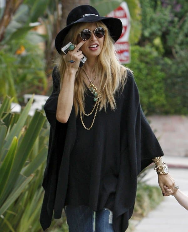 Rachel Zoe Out With Her Son
