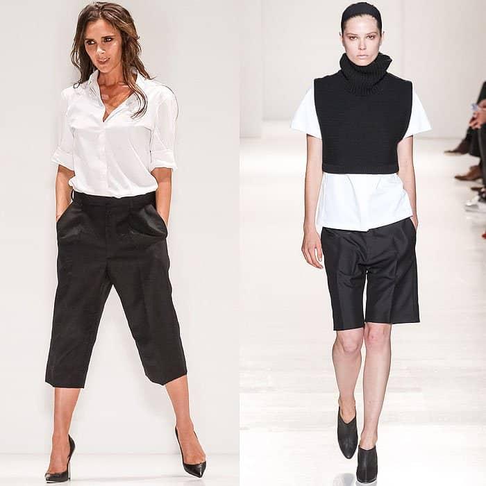 Victoria Beckham Mercedes-Benz New York Fashion Week Spring 2014