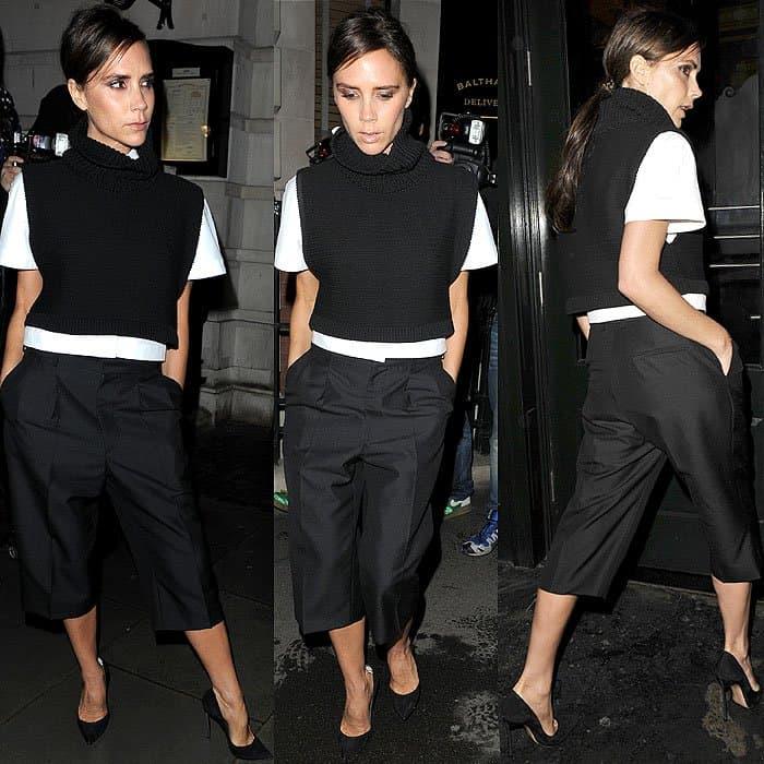 Victoria Beckham Vogue dinner at Balthazar 1