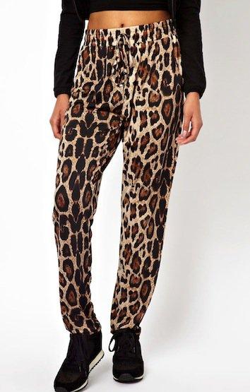Brave Soul Leopard Track Pants