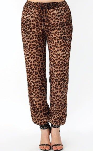 Leopard Lady Drawstring Lounge Pants