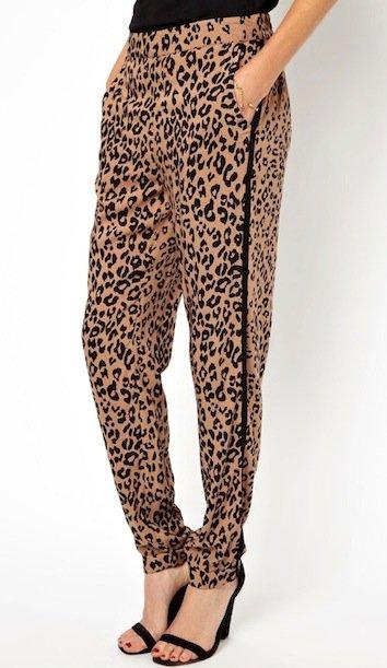 Oasis Leopard Placement Pants