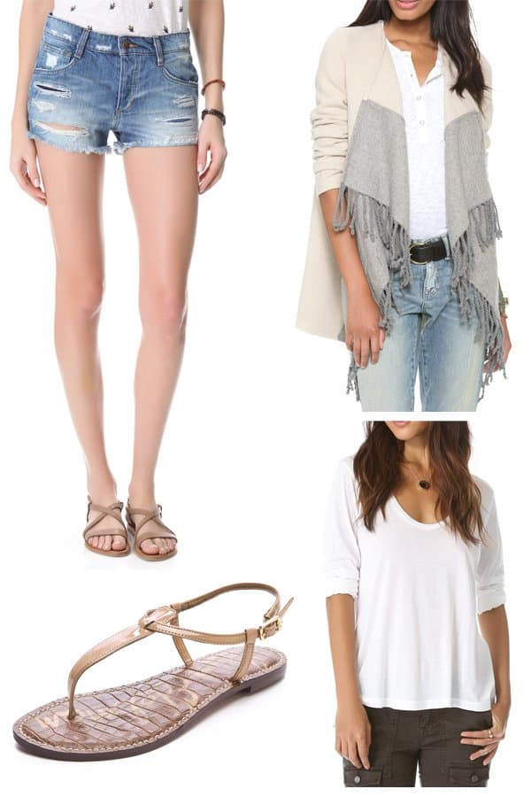 Alessandra Ambrosio inspired outfit