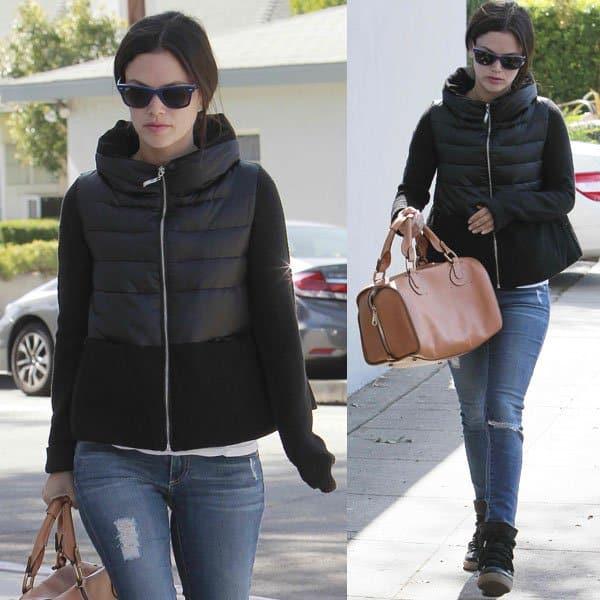 Rachel Bilson has long been a loyal follower of AG Adriano Goldschmied jeans
