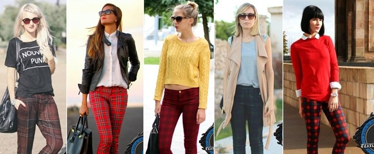 How to Wear Tartan Plaid Pants: 6 Stylish Outfit Ideas
