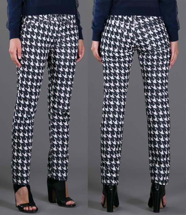 Isabel Marant Étoile LTI Houndstooth Trousers