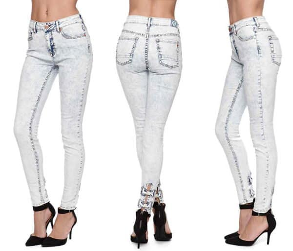 Kendall & Kylie High Rise Skinniest Jeans