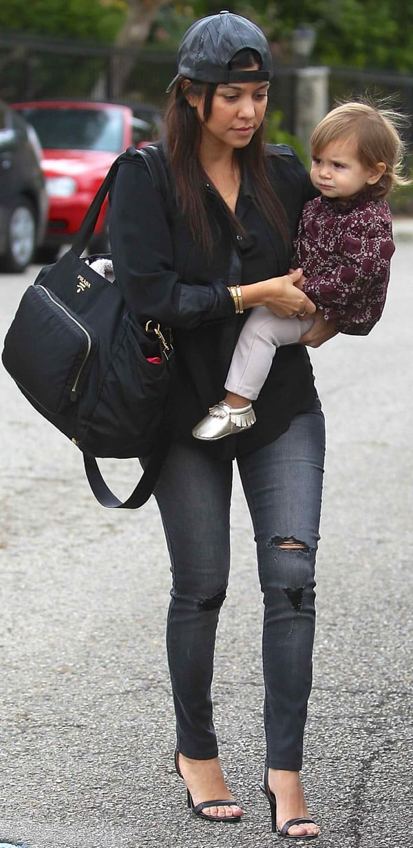 Kourtney Kardashian in Black Orchid 8