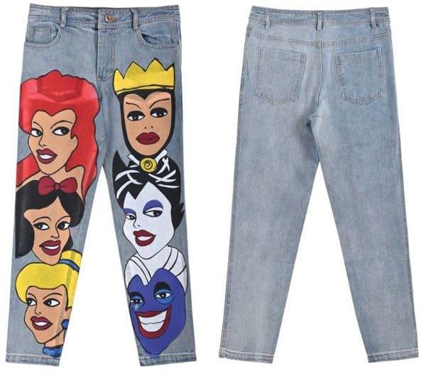 She Inside Disney Jeans