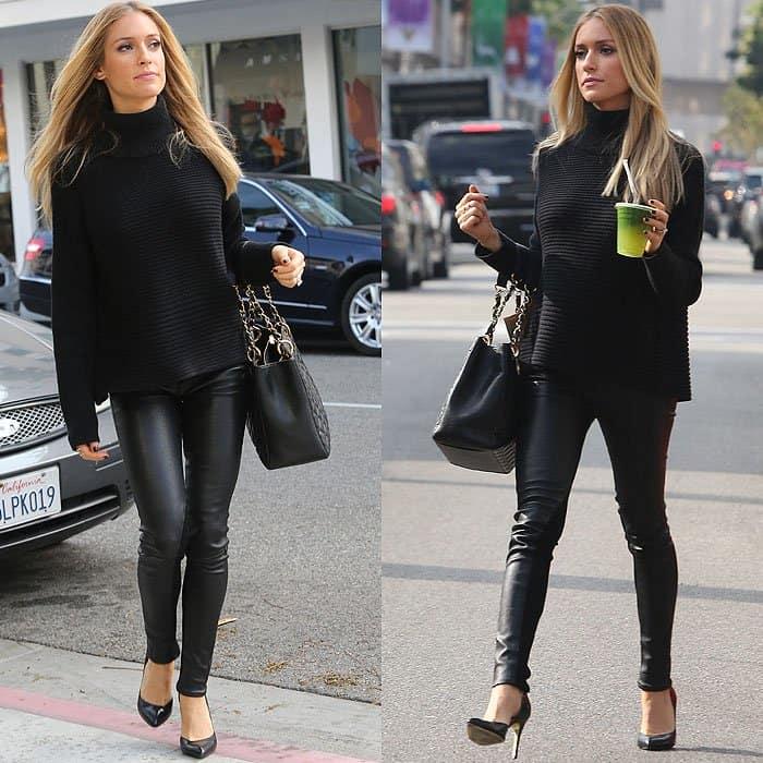 Kristin Cavallari pregnant in jeans